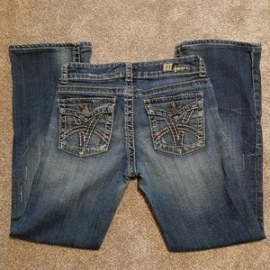 Kut from the Kloth So Low 4 Short Bootcut Jeans
